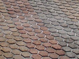 Adoquín Tri-Hexagonal